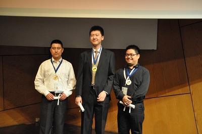 Men's Rapid Zhang Qiang-Xie Jing(gold) Jiang Chuan